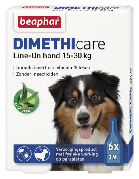 Dimethicare Line-on hond 15-30 kg <br>6 pipetten