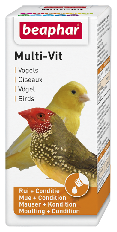 Beaphar Multi-Vit vogel 20 ml