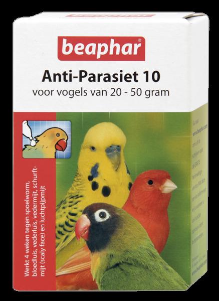 Beaphar Anti-Parasiet 10 vogels van 20-50 gr