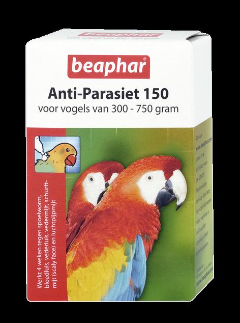 Beaphar Anti-Parasiet 150 vogels vanaf 300 gr