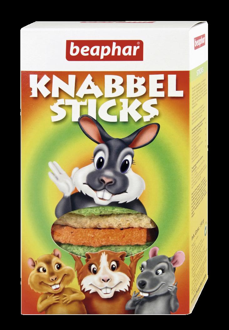 Beaphar knabbelsticks 150 gr
