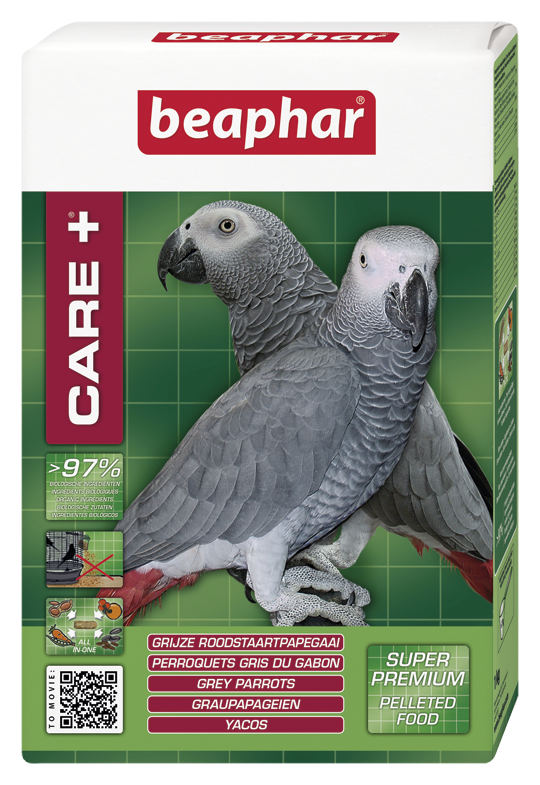 Beaphar Care+ Grijze Rood staart 1 kg