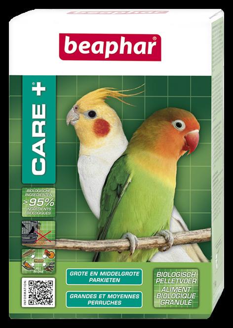 Beaphar Care+ Grote en Middelgrote Parkieten 500 gr