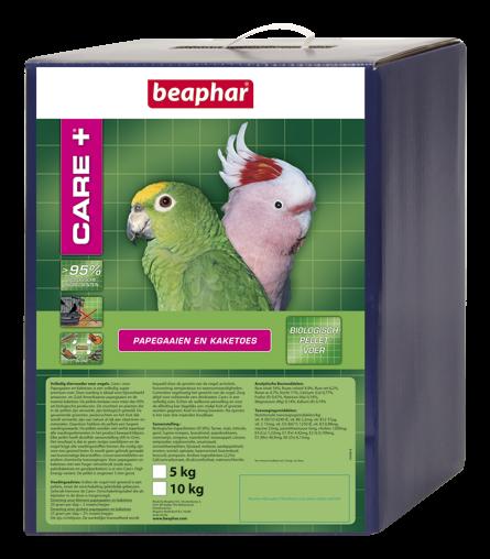 Beaphar Care+ Papegaaien en Kaketoes 5 x 1 kg