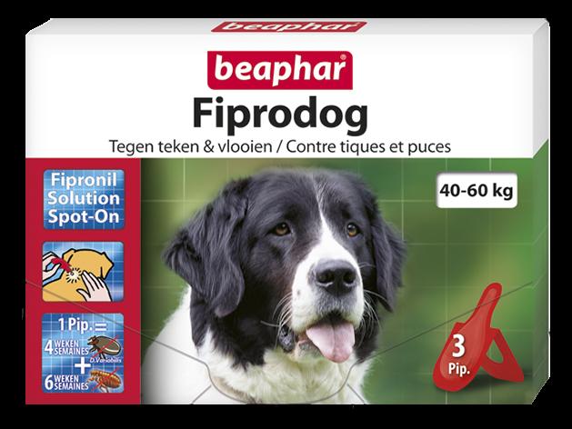 Beaphar Fiprotec Spot-On hond 40-60 kg 3 pipetten