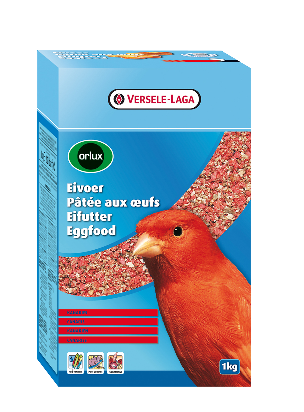 Versele-Laga Orlux Eivoer Rood 1 kg