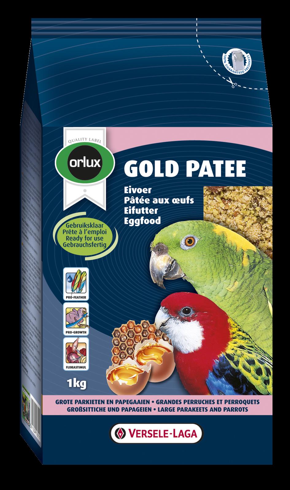 Versele-Laga Orlux Gold Patee Grote Parkieten & Papegaaien 1 kg