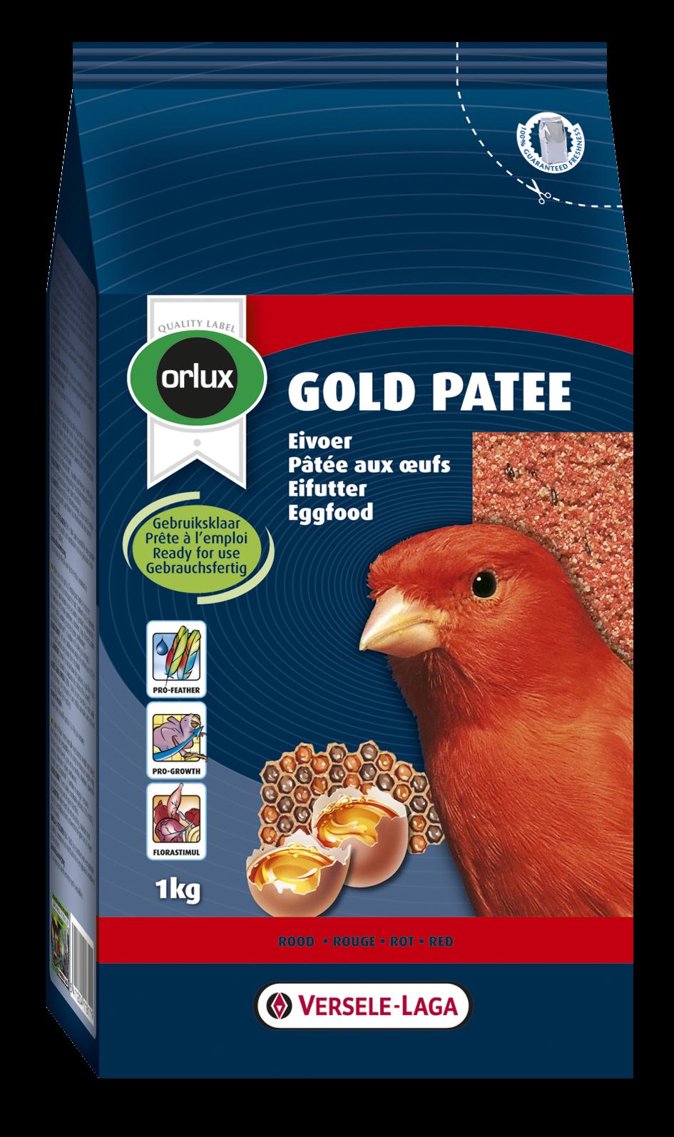 Versele-Laga Orlux Gold Patee Kanaries rood 1 kg