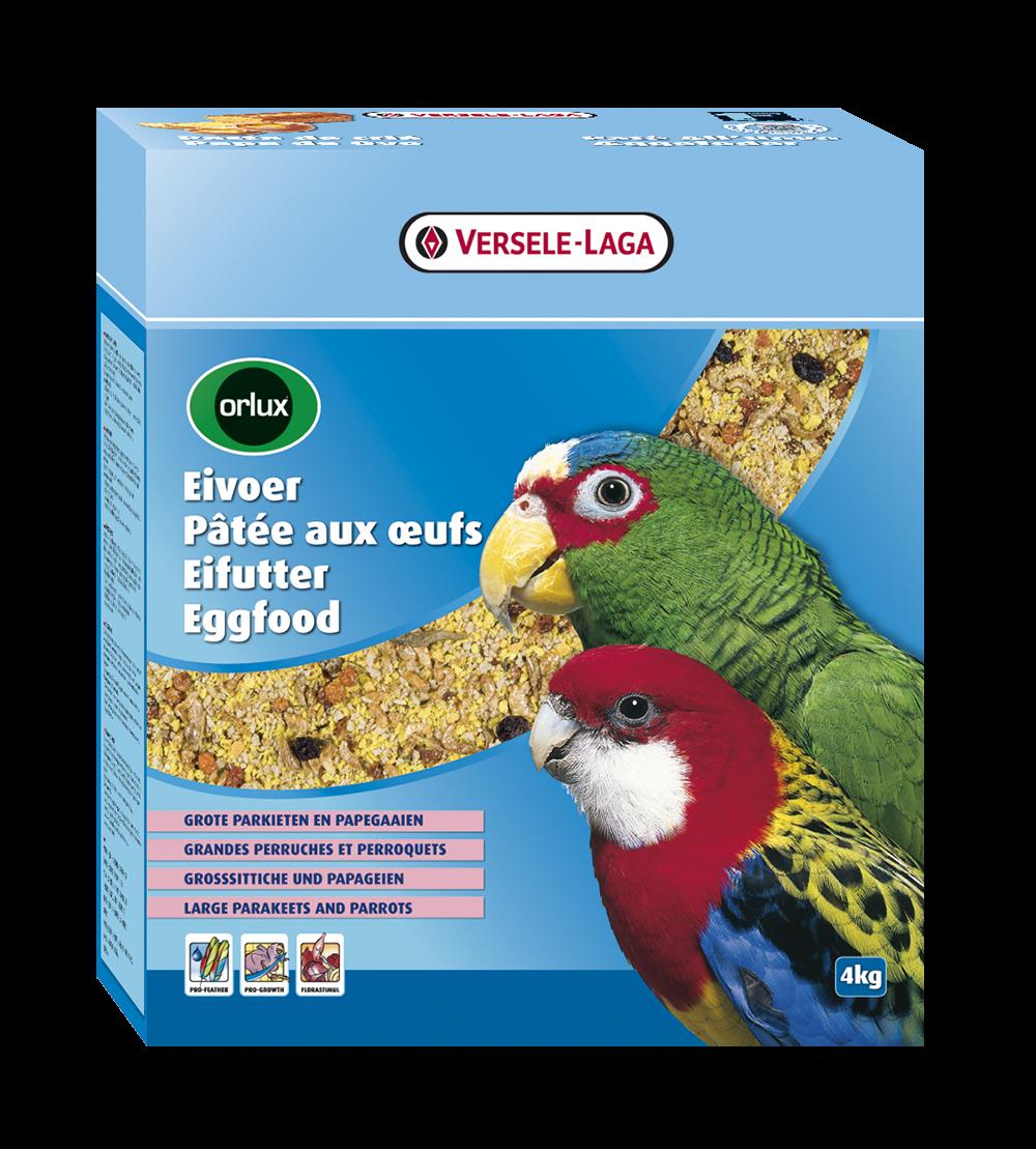 Versele-Laga Orlux Eivoer Droog Grote Parkieten & Papegaaien 4 kg