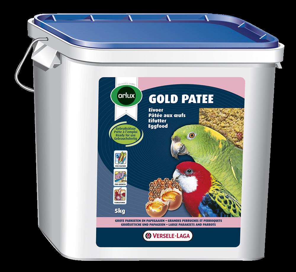 Versele-Laga Orlux Gold Patee Grote Parkieten & Papegaaien 5 kg