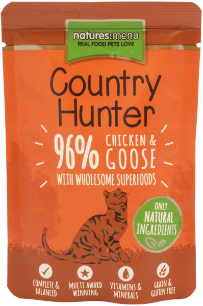 Natures Menu Country Hunter Chicken & Goose 85 gr