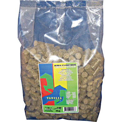 Vanilia Herbal paardensnacks 4 kg