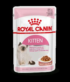 Royal Canin kattenvoer Kitten in Gravy 12 x 85 gr