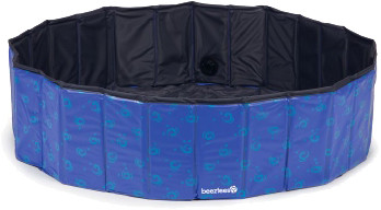 Beeztees zwembad Doggy Dip blauw <br>120 cm