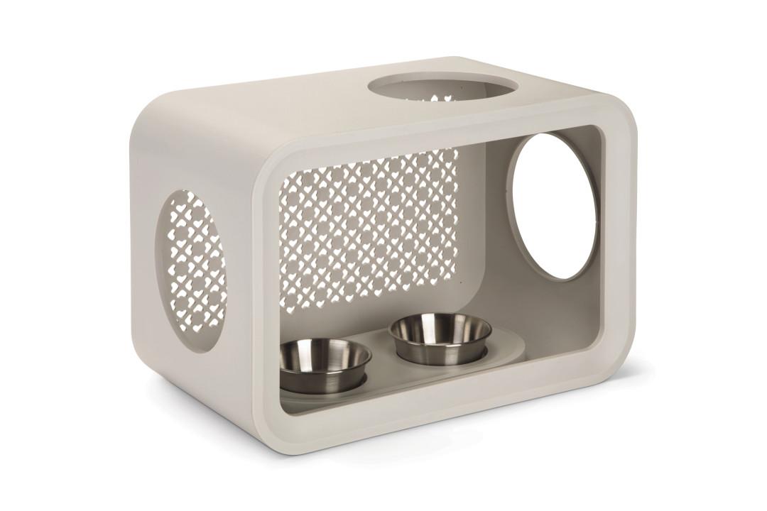 Beeztees Cat Cube Dinner dune grey