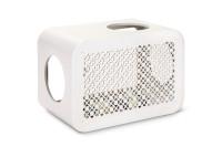 Beeztees Cat Cube Play angora white thumb