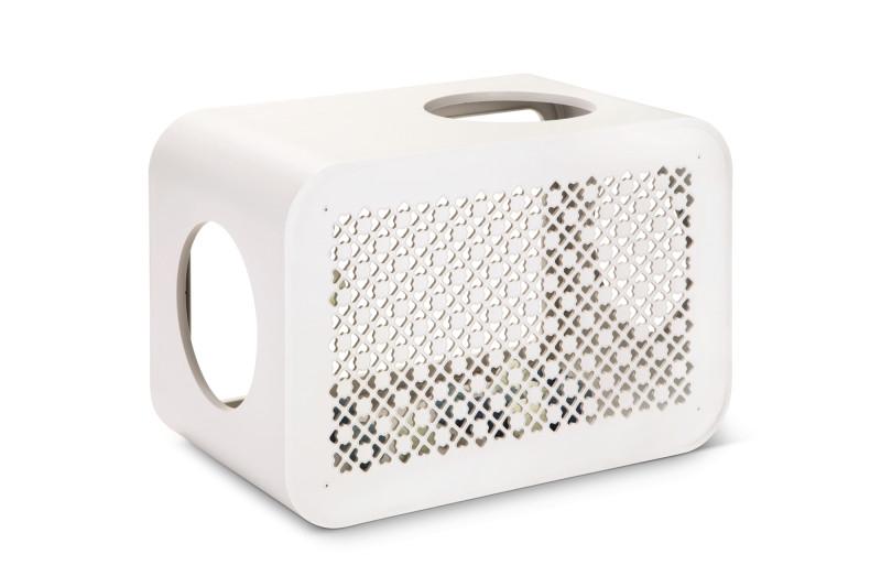 Beeztees Cat Cube Play angora white