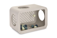 Beeztees Cat Cube Play dune grey thumb