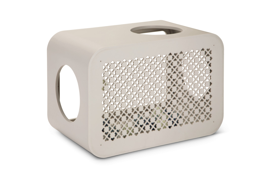 Beeztees Cat Cube Play dune grey