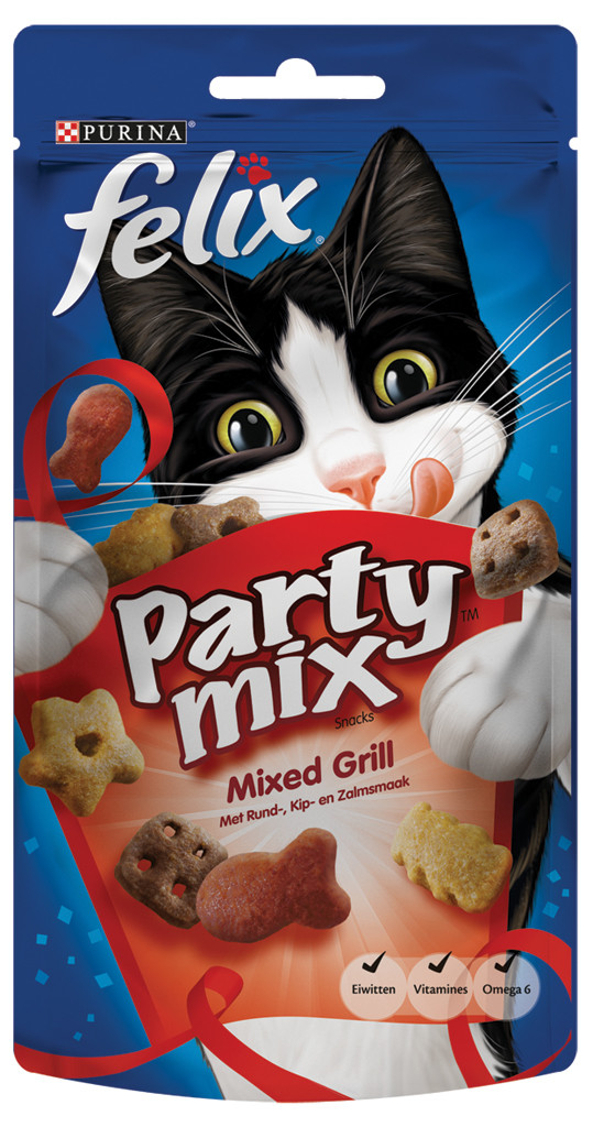 Felix Party Mix Mixed Grill 60 gr
