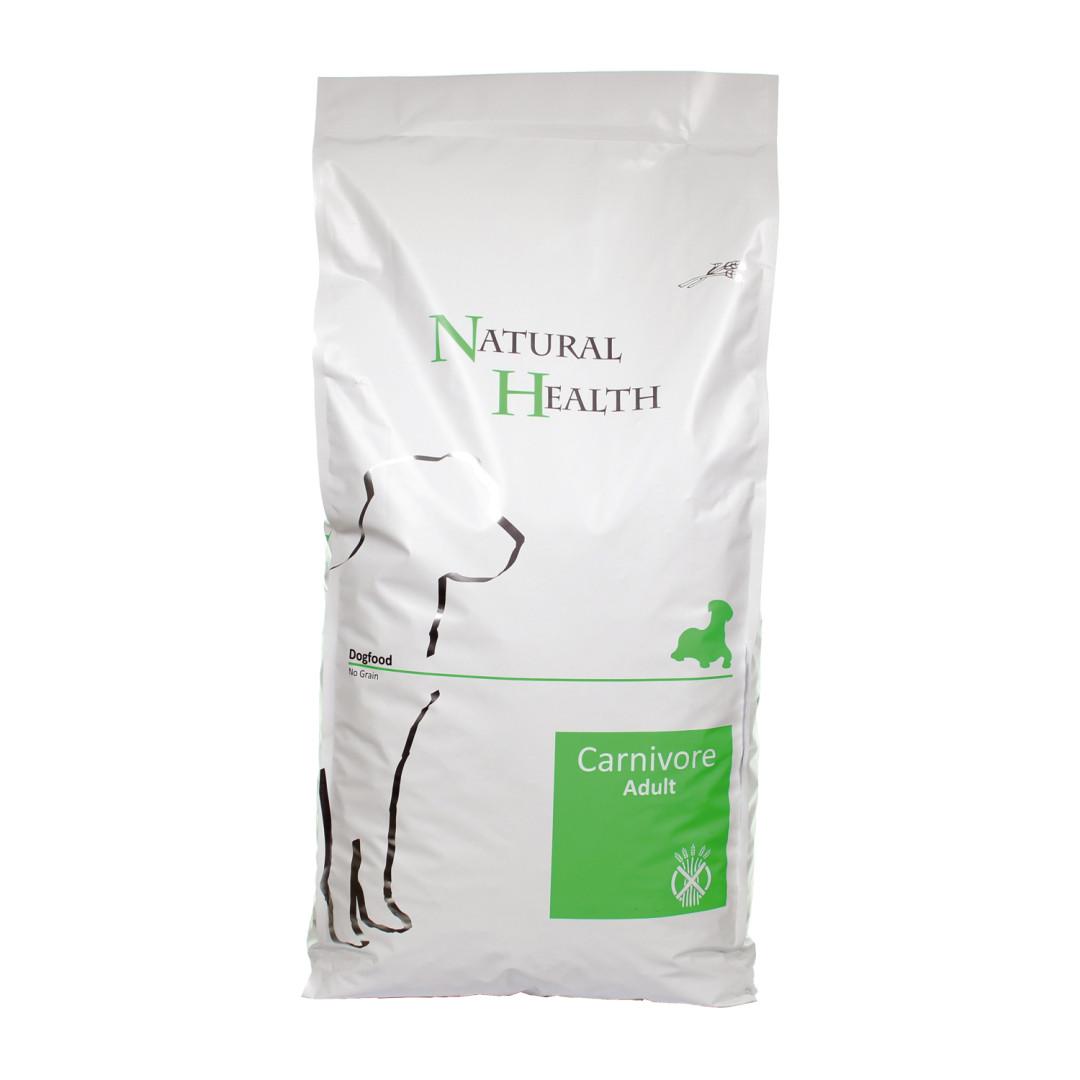 Natural Health hondenvoer Carnivore 15 kg