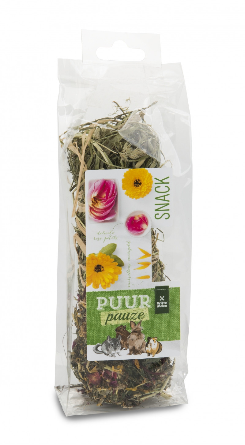 PUUR Pauze Hooistick bloemen 70 gr