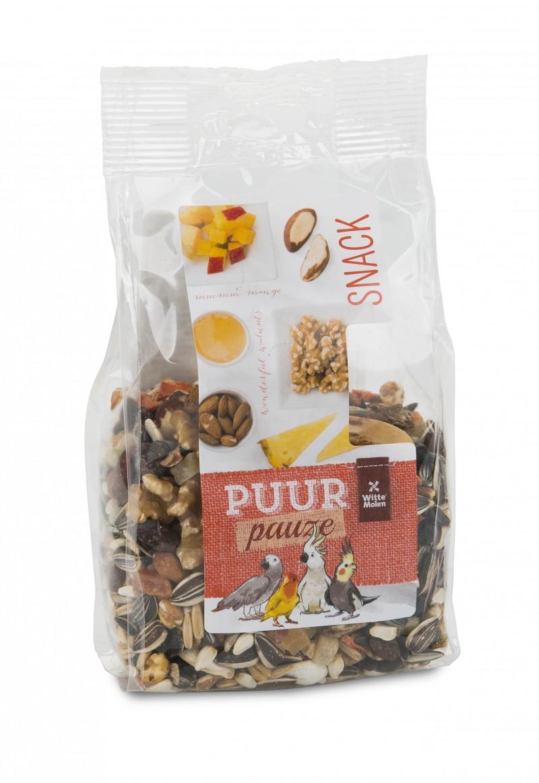 PUUR Pauze Snack mix Noten & Fruit 200 gr