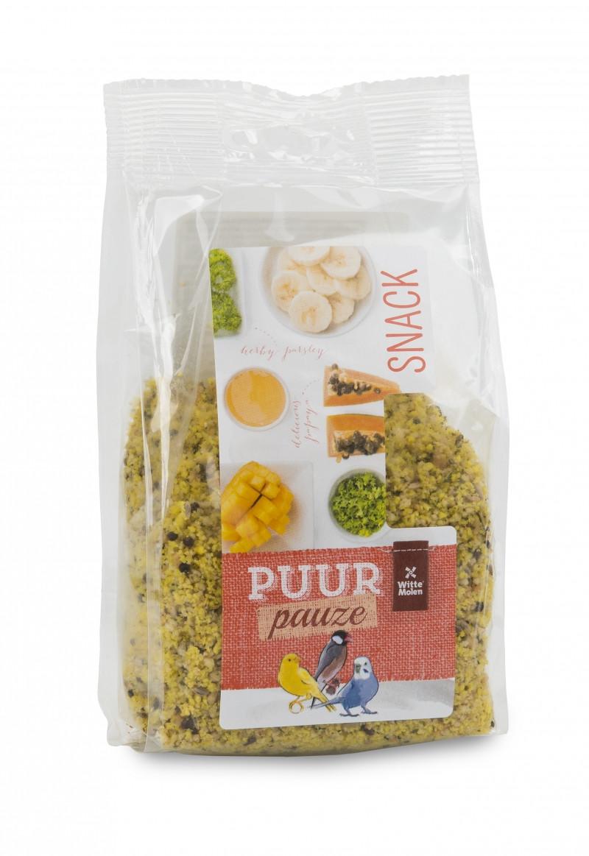 PUUR Pauze Fruit- & kruidencrumble 200 gr