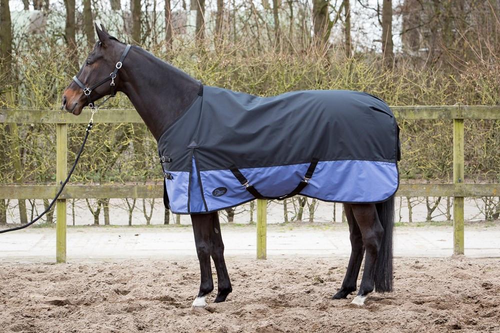 Harry's Horse Thor outdoordeken 200 gr 2Tone Black Marlin