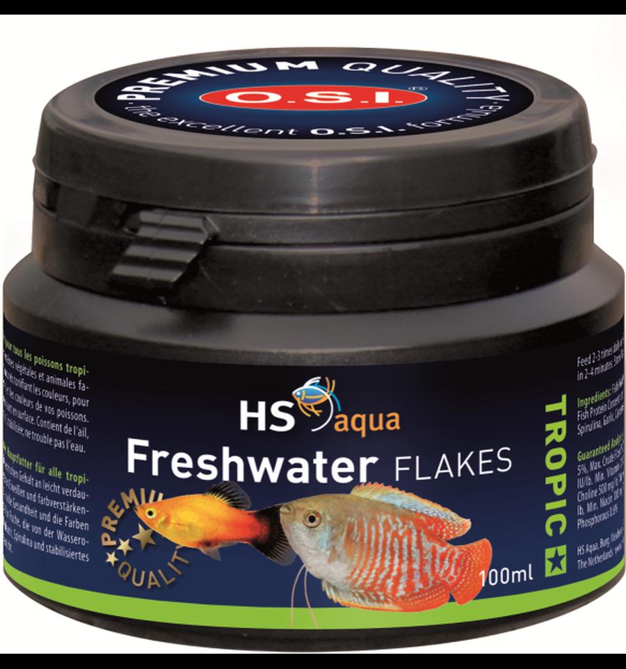 HS Aqua Freshwater flakes 100 ml