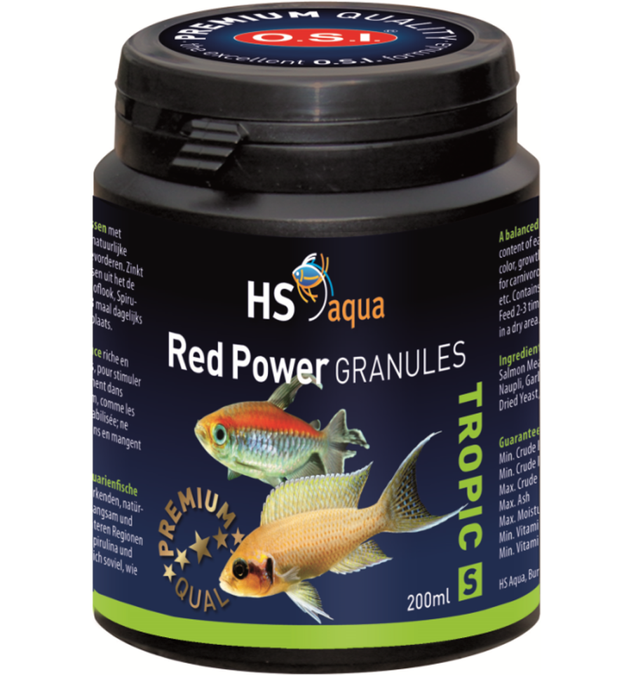 HS Aqua Red Power granules S 200 ml