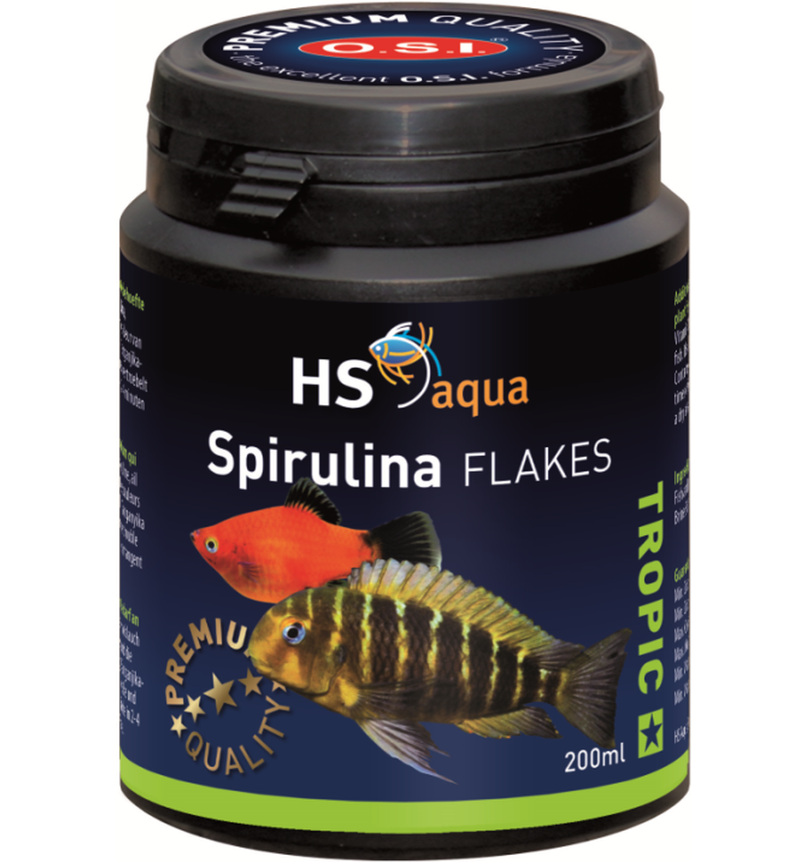 HS Aqua Spirulina flakes 200 ml