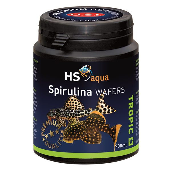 HS Aqua Spirulina wafers 200 ml