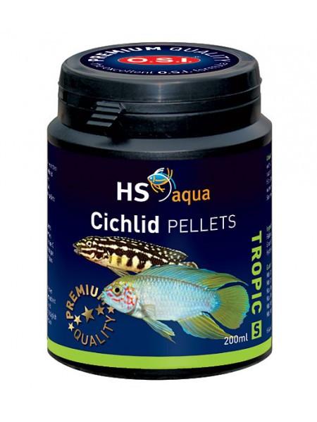HS Aqua Cichlid pellets S 200 ml