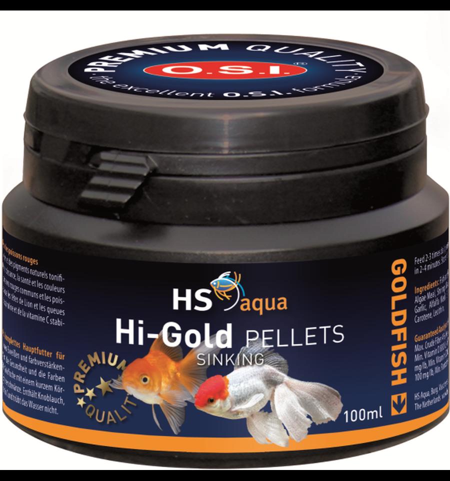 HS Aqua hi-Gold pellets 100 ml