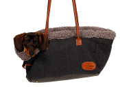 51DN - Herringbone - Travelbag - DarkGrey - 51SHBTR21 - (5420065830124) - Dog.jpg