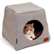 51DN - Herringbone - Cathouse - 45x45x42cm - LightGrey - 51SHBCH31 - (5420065814339) - Cat.jpg