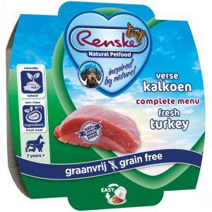 Renske hondenvoer Vers Vlees maaltijd Senior Graanvrij 100 gr