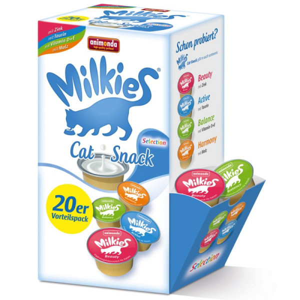 Milkies Selection kattensnack 20 st