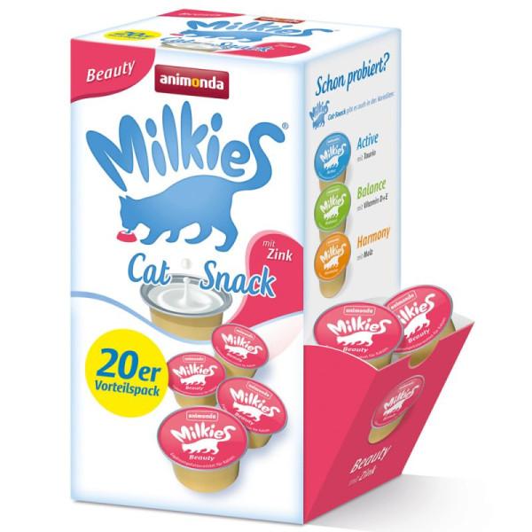 Milkies Beauty kattensnack 20 st
