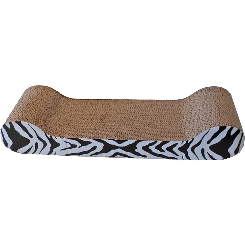 Krabkarton Sofa Zebra