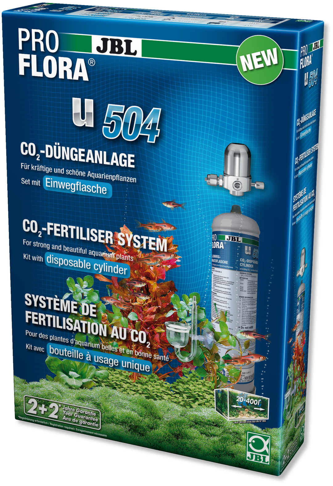 JBL CO2-set ProFlora u504