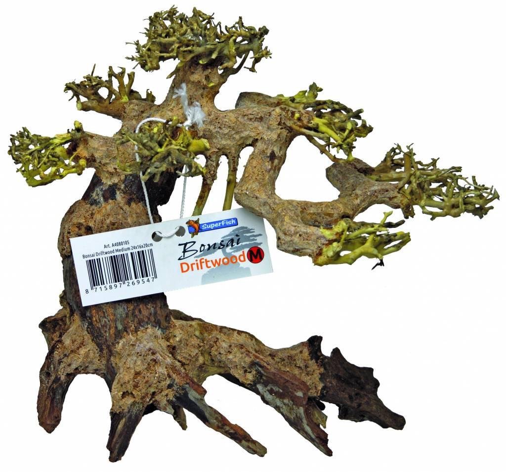 SuperFish Bonsai Driftwood aquariumdecoratie M