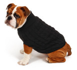 51DN - Classic - Cable Sweater - Black - GTCS200 - (5420065809793) - Dog.jpg