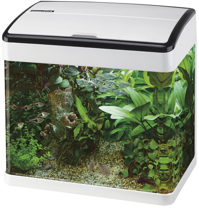 SuperFish aquarium Panorama 20 wit