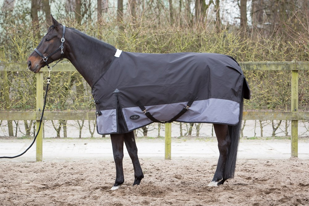 Harry's Horse regendeken Wodan 0 gr jet/black