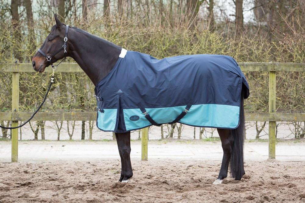 Harry's Horse regendeken Wodan fleece midnight/navy