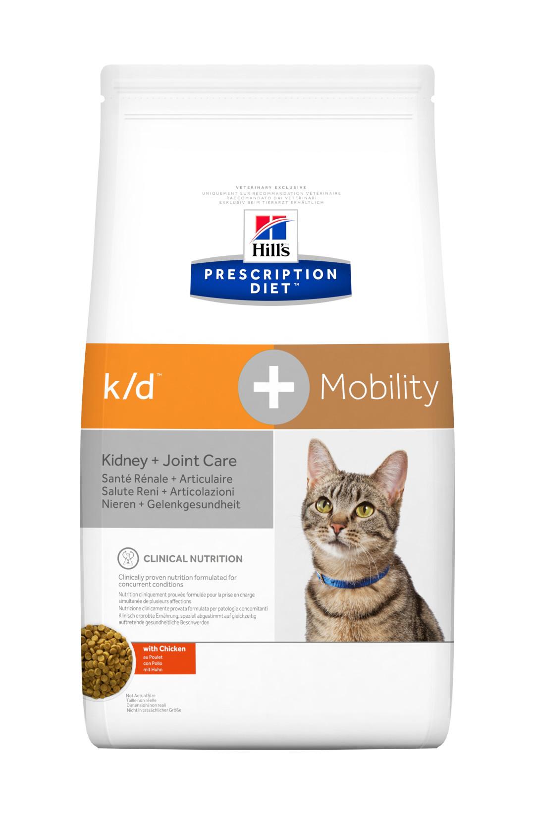 Hill's Prescription Diet kattenvoer k/d + Mobility 5 kg
