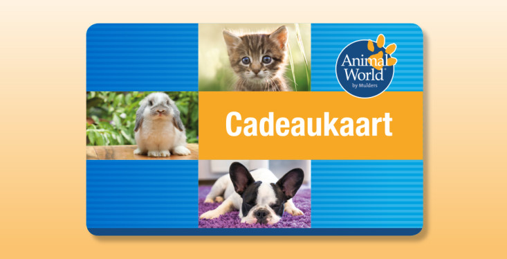 De Animal World cadeaukaart