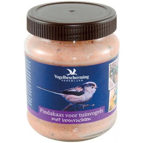 Pindakaas voor tuinvogels met bosvruchten 330 gr